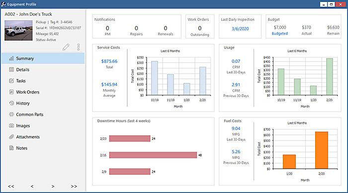 Fleet Inventory Tracking