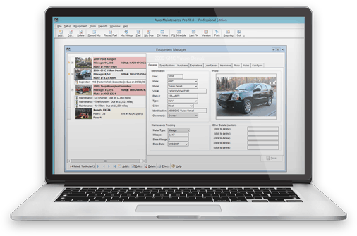 Auto Maintenance Pro Software